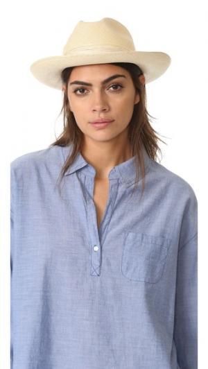 Шляпа Clasico с двойным шнуром Artesano. Цвет: телесный/телесный