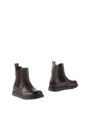 Полусапоги и высокие ботинки BISGAARD. Цвет: свинцово-серый