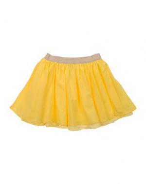 Юбка BONNIE KIDS. Цвет: желтый