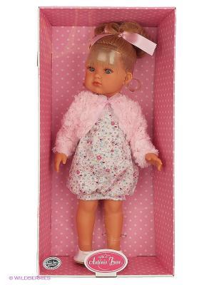 Кукла Белла розовое болеро, 45 см Antonio Juan. Цвет: бледно-розовый