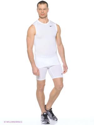 Шорты COOL COMP 6 SHORT Nike. Цвет: белый