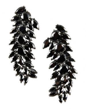 Серьги IOSSELLIANI. Цвет: черный