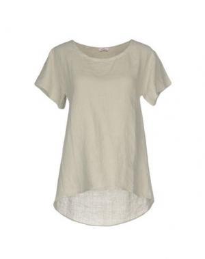 Блузка ROSSOPURO. Цвет: светло-серый