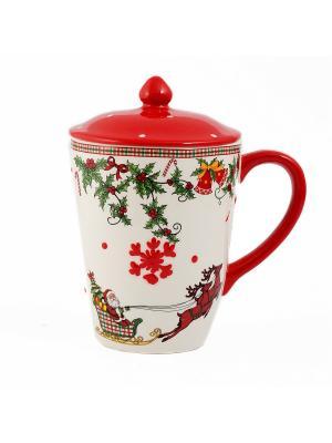 Кружка Русские подарки. Цвет: красный, белый