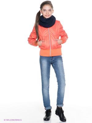 Бомбер Orby. Цвет: оранжевый