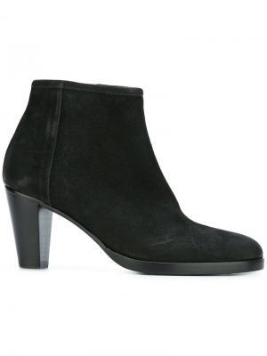 Ботинки по щиколотке A.F.Vandevorst. Цвет: чёрный