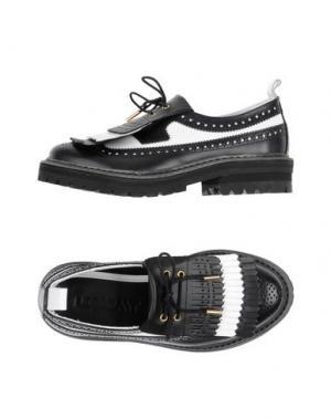Обувь на шнурках LE QARANT. Цвет: черный