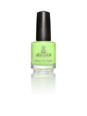 Лак для ногтей  # 789 Radioactive, 14,8 мл JESSICA. Цвет: зеленый
