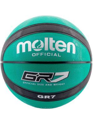 Мяч Molten. Цвет: зеленый, черный