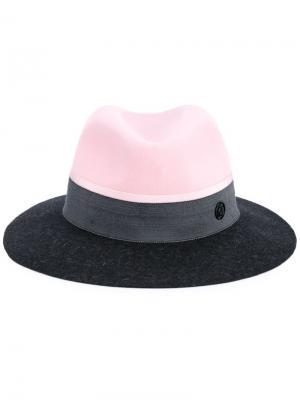 Шляпа Henrietta Maison Michel. Цвет: розовый и фиолетовый