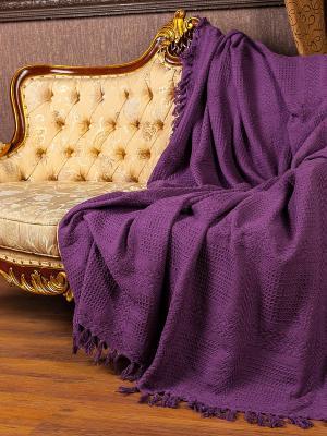 Покрывало ARLONI. Цвет: фиолетовый