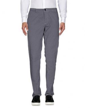 Повседневные брюки RRD. Цвет: грифельно-синий