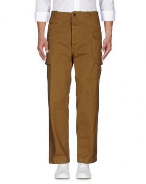 Джинсовые брюки EAST HARBOUR SURPLUS. Цвет: хаки