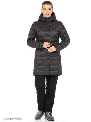Куртка W SAGA DOWN PARKA Helly Hansen. Цвет: темно-серый