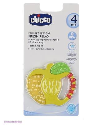 Прорезыватель CHICCO. Цвет: зеленый