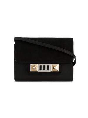 Сумка-кошелек через плечо PS11 Proenza Schouler. Цвет: чёрный