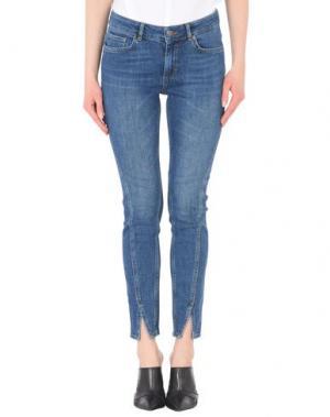 Джинсовые брюки TWIST & TANGO. Цвет: синий