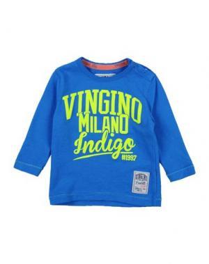 Футболка VINGINO. Цвет: синий