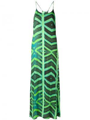 Tapajo beach dress Blue Man. Цвет: зелёный