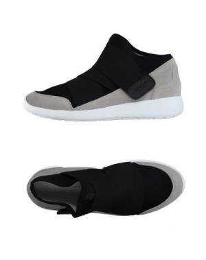 Высокие кеды и кроссовки FESSURA. Цвет: черный