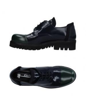 Обувь на шнурках FIORIFRANCESI. Цвет: темно-синий