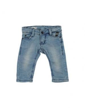 Джинсовые брюки IMPS&ELFS. Цвет: синий