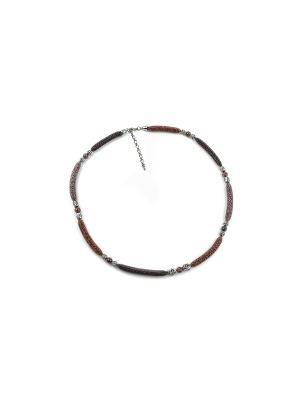 Ожерелье FOXTROT. Цвет: бордовый