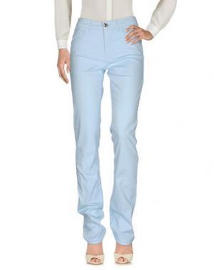 Повседневные брюки MARANI JEANS. Цвет: небесно-голубой
