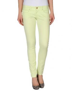 Повседневные брюки NIOI. Цвет: кислотно-зеленый