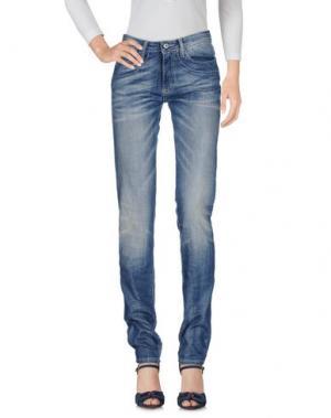 Джинсовые брюки DIXIE. Цвет: синий