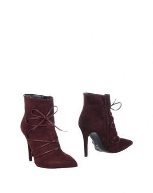 Полусапоги и высокие ботинки ELIANA BUCCI. Цвет: красно-коричневый