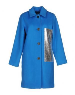 Пальто REJINA PYO. Цвет: лазурный