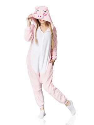 Пижама Поросенок Nothing but Love. Цвет: бледно-розовый, розовый