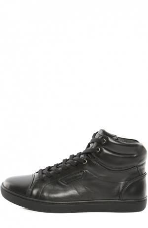 Кеды London Dolce & Gabbana. Цвет: черный