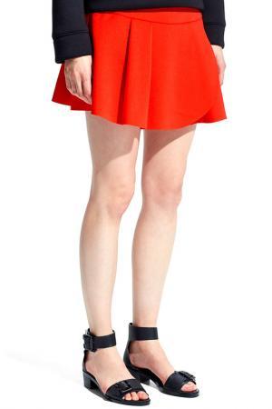 Юбка MANGO. Цвет: 27 темно-оранжевый