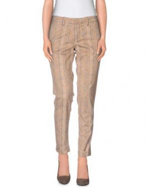Повседневные брюки HAIKURE. Цвет: песочный