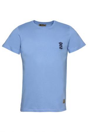Футболка Z-Brand. Цвет: синий