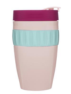 Кружка для напитков на вынос Sagaform. Цвет: розовый