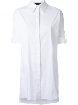 Рубашка Camron Alice+Olivia. Цвет: белый