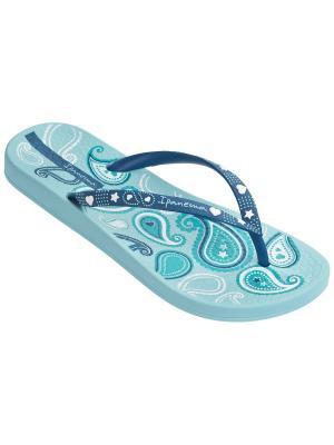 Шлепанцы Ipanema. Цвет: голубой, синий