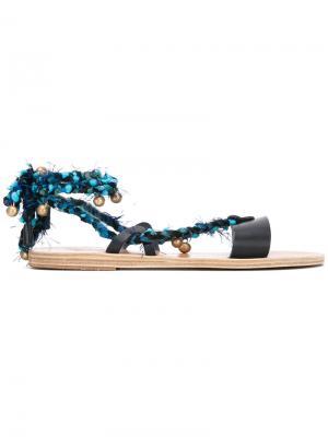 Сандалии Lachesis Ancient Greek Sandals. Цвет: синий