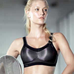 Бюстгальтер спортивный MOMENTUM ANITA. Цвет: телесный,черный