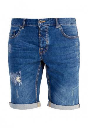 Шорты джинсовые oodji 6L210024M/46627/7800W