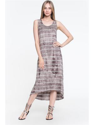 Летнее платье из вискозного трикотажа ORHIDEA