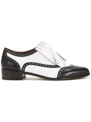 Ботинки-броги Tabitha Simmons. Цвет: белый