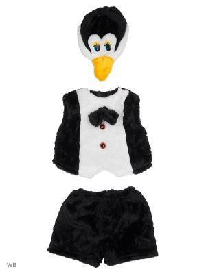 Карнавальный костюм Пингвин Батик. Цвет: черный, белый