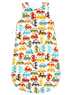 Спальный мешок Берегись автомобиля MIKKIMAMA. Цвет: белый, зеленый, коричневый, голубой, красный, оранжевый