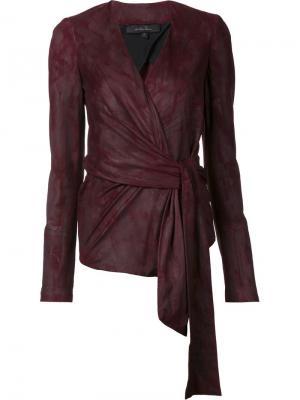 Wrap jacket Urban Zen. Цвет: красный