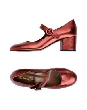 Туфли BIANCA DI. Цвет: красный
