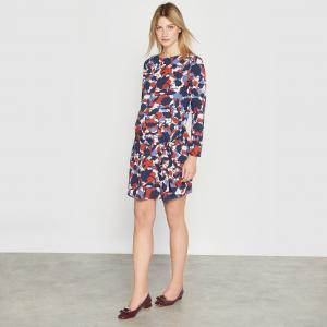 Платье для периода беременности La Redoute Collections. Цвет: набивной рисунок